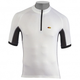 northwave maillot manches courtes force blanc