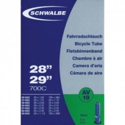schwalbe chambre a air 27 5 28 29 valve schrader