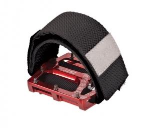 gusset straps velcro pour pedales noir