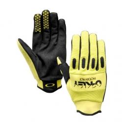 oakley paire de gants factory pilot jaune