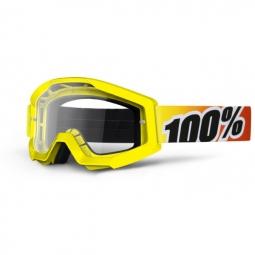 100 masque strata sunny days jaune ecran transparent