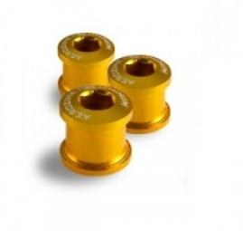 aerozine kit de 5 vis 5mm cheminees or