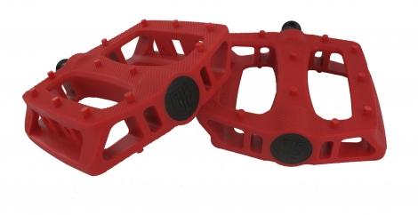 blb paire de pedales en plastique t rex rouge
