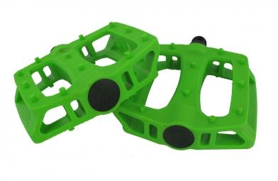 blb paire de pedales en plastique t rex vert