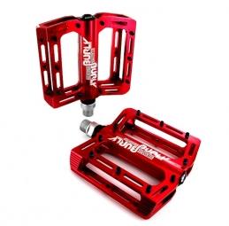 sb3 paire de pedales burly dh rouge