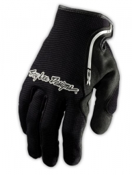 troy lee designs paire de gants longs xc noir