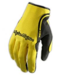 troy lee designs paire de gants longs xc jaune