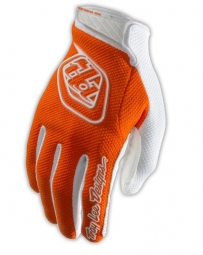 troy lee designs paire de gants longs air orange