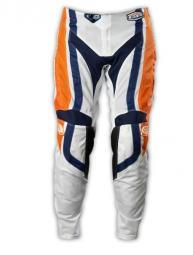 troy lee designs pantalon gp air factory orange bleu