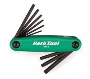 park tool kit de 9 cles torx tws 2