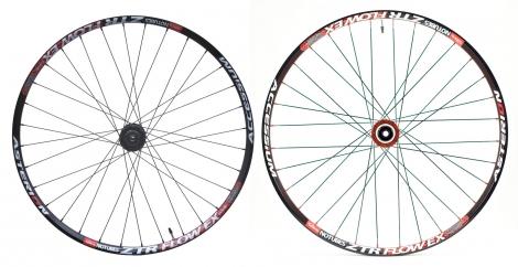 asterion paire de roues accessium en 29 aivee mt3 axes 15mm 12x142mm noir