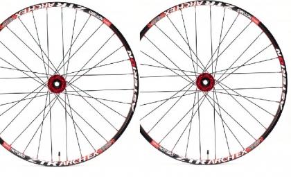 asterion paire de roues accessium am 29 moyeux aivee mt3 axes 9mm av et ar noir