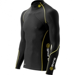 skins maillot thermique compression a200 thermal noir homme