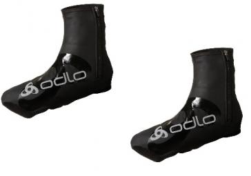 odlo paire de couvre chaussures windproof noir