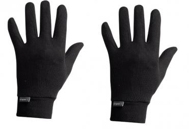 odlo paire de sous gants warm noir