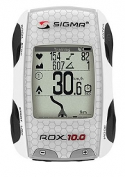 sigma compteur rox 10 0 kit complet gps blanc