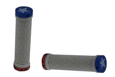 sb3 paire de grips logo lock on america bleu rouge blanc
