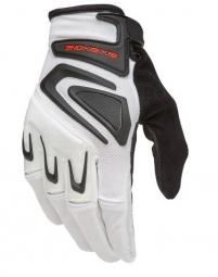 661 sixsixone 2015 paire de gants longs rage blanc noir