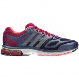 adidas chaussures supernova sequence bleu rose femme