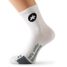assos paire de chaussettes earlywintersocks s7 blanc