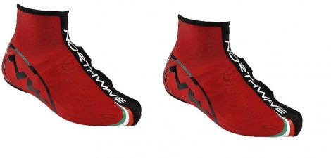 northwave paire de couvres chaussures force rouge
