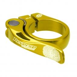 reverse collier de selle long life diametre 34 9 mm or