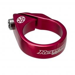 reverse collier de selle a vis diametre 34 9 mm rouge