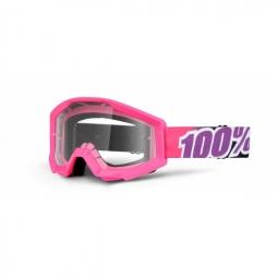 100 masque strata bubble gum rose ecran transparent