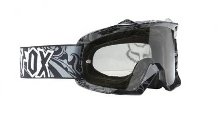 fox masque airspc noir gris verre gris