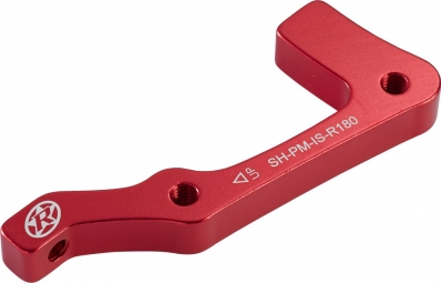 reverse adaptateur frein is pm shimano arriere 180mm rouge