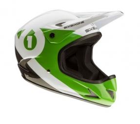 casque integral 661 sixsixone rage carbon noir vert