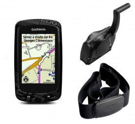 GARMIN Edge 810 (with heart rate belt and speed)