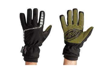 northwave paire de gants longs artic evo noir