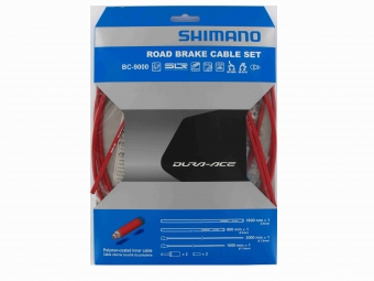 shimano kit cables et gaines frein dura ace 9000 rouge