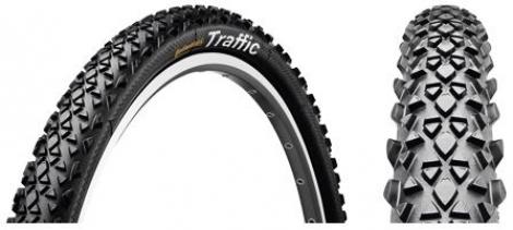 continental pneu traffic 26x1 90 rigide sport tubetype