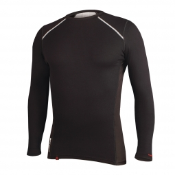 endura maillot transmission ii manches longues noir