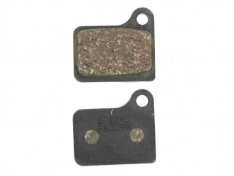 ebc vert paire de plaquettes shimano deore 2001 organique medium