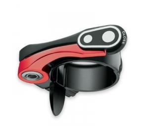 crankbrothers collier de selle split noir rouge