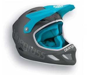 casque integral bluegrass explicit gris bleu