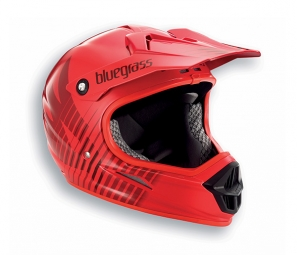 casque integral bluegrass intox rouge