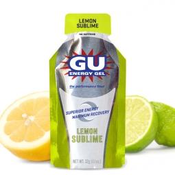 gu gel energetique gout citron intense