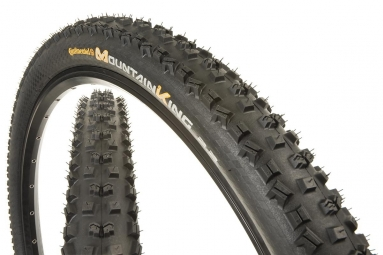 continental pneu mountain king ii 27 5x2 2 souple performance blackchili tubeless re