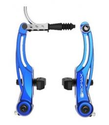 promax etrier de frein v brake pro 108mm bleu