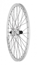 halo roue arriere 26 freedom 6 drive spin doctor 36 rayons 9 12x142mm blanc