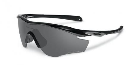 oakley lunettes m2 frame polished black black iridium polarises oo9212 05