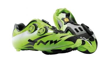 chaussures vtt northwave extreme tech mtb plus vert noir