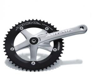 miche pedalier piste primato argent 167 5mm 44