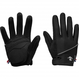 le coq sportif paire de gants longs resson noir