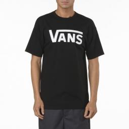 vans t shirt manches courtes classic noir