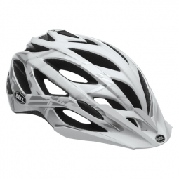 casque bell sequence blanc gris